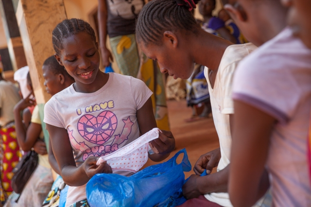 Menstrual Hygiene Distribution - 28th April 2017